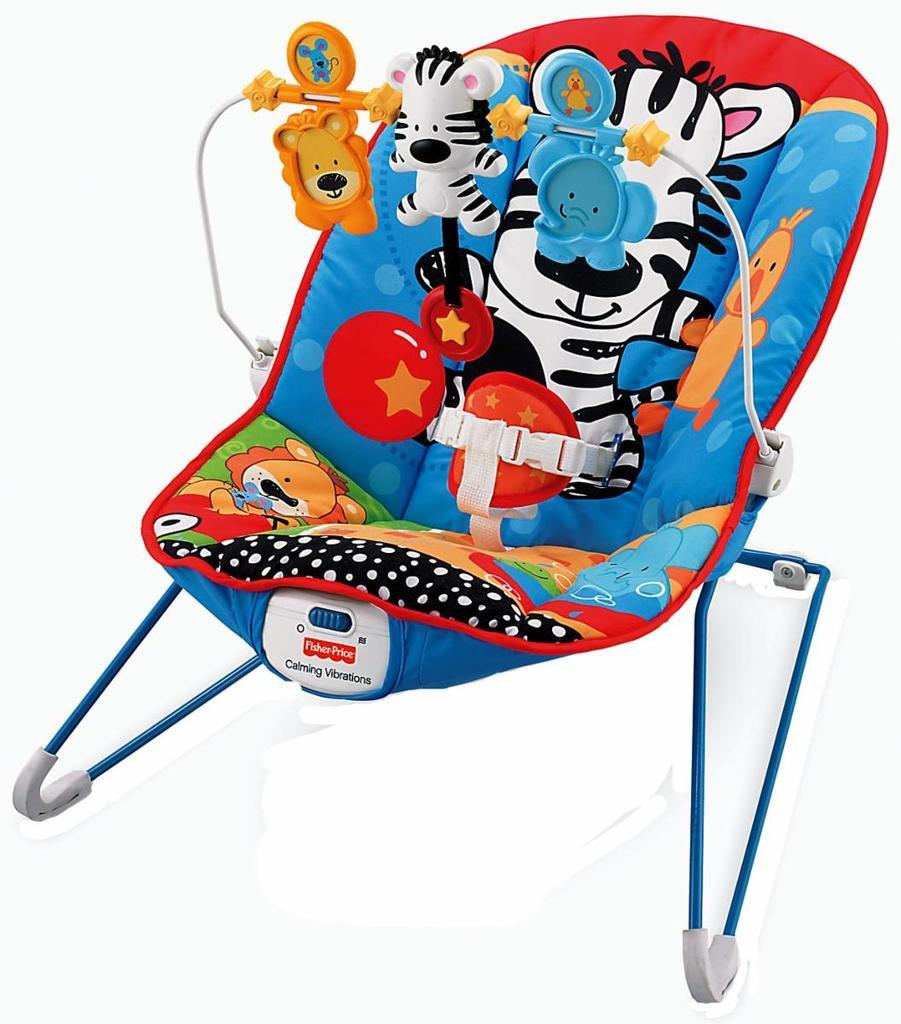 Silla mecedora FISHER PRICE Adorable Animals