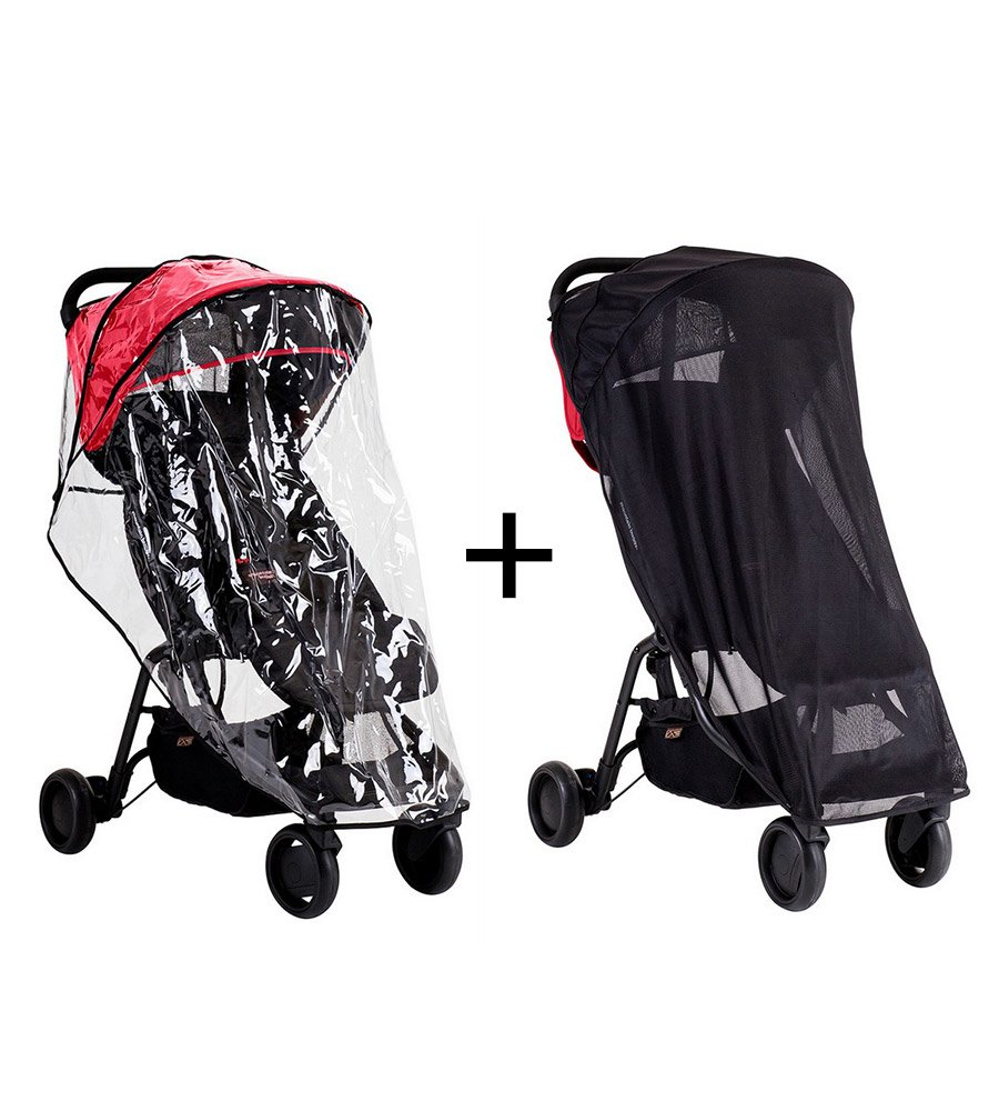 Set mosquitero + Cubre cochecito Nano cover Mountain Buggy