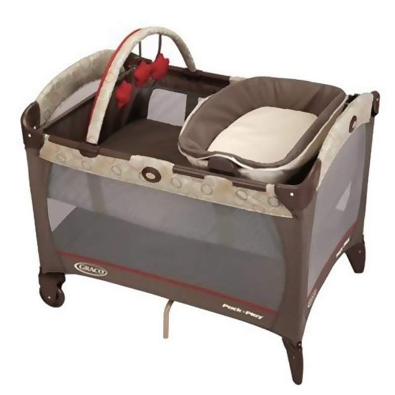 Practicuna Graco Napper reversible con Moises