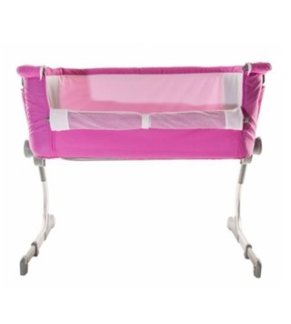 Moisés Cuna Colecho ROSA + mosquitero Napper Kiddy  ROSA - Punto Bebe Baby Store