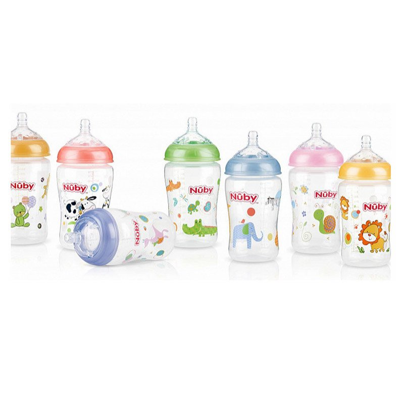 Mamadera Natural Touch 270ML  Nuby - COD: 68013