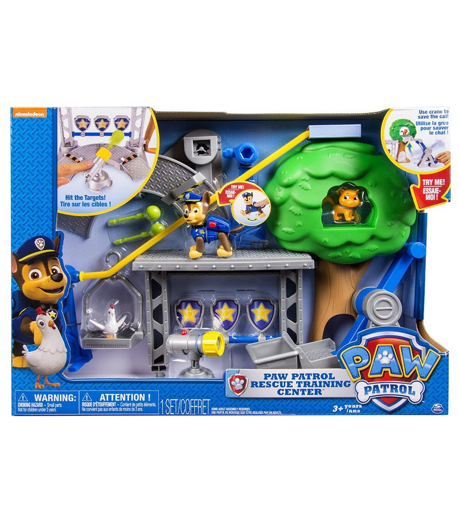 Paw Patrol kit RESCUE TRAINING CENTER