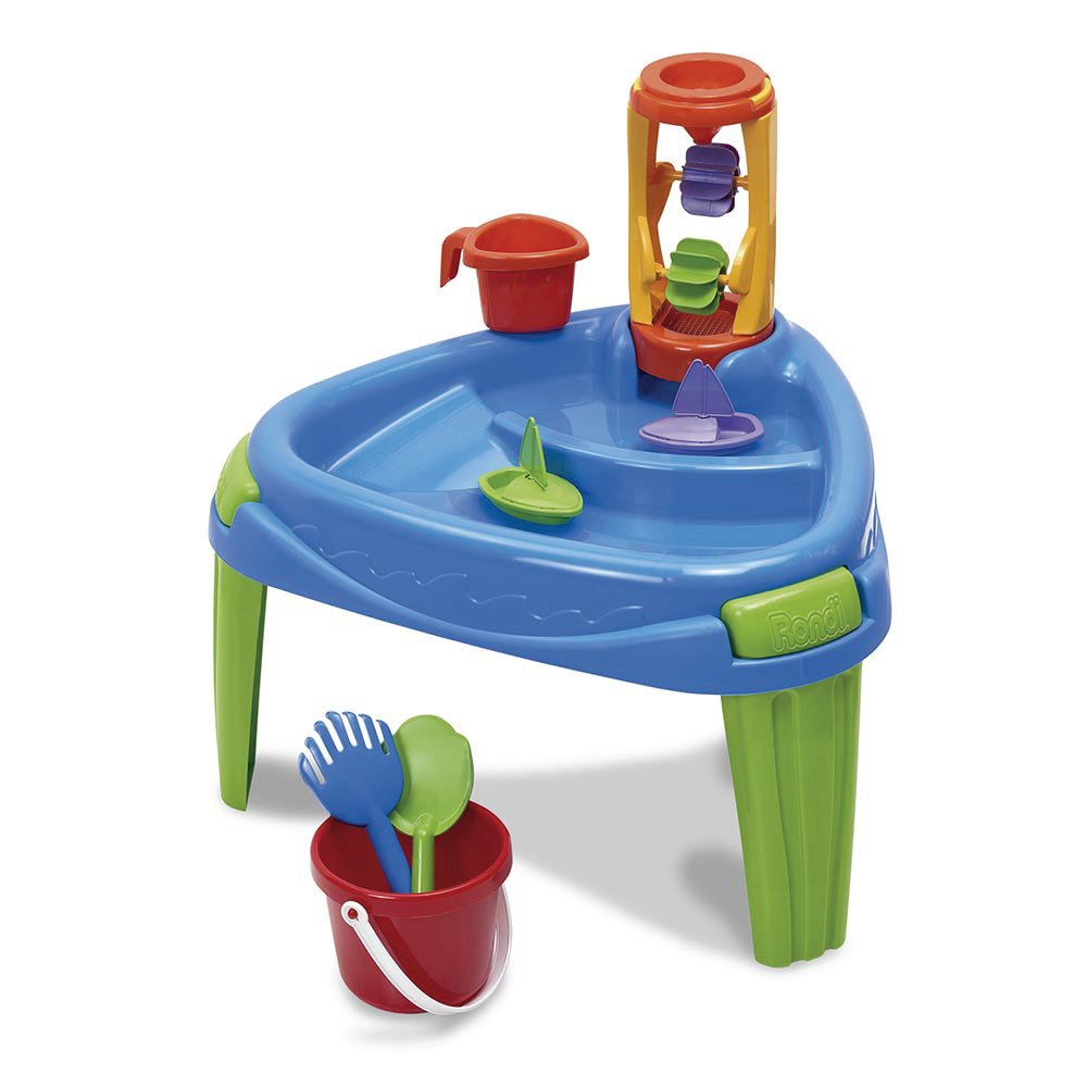 Rondi Play Table + Balde de Playa Celeste