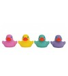 Set Patitos baño x 4 un. Bright Baby Duckies Girl Playgro