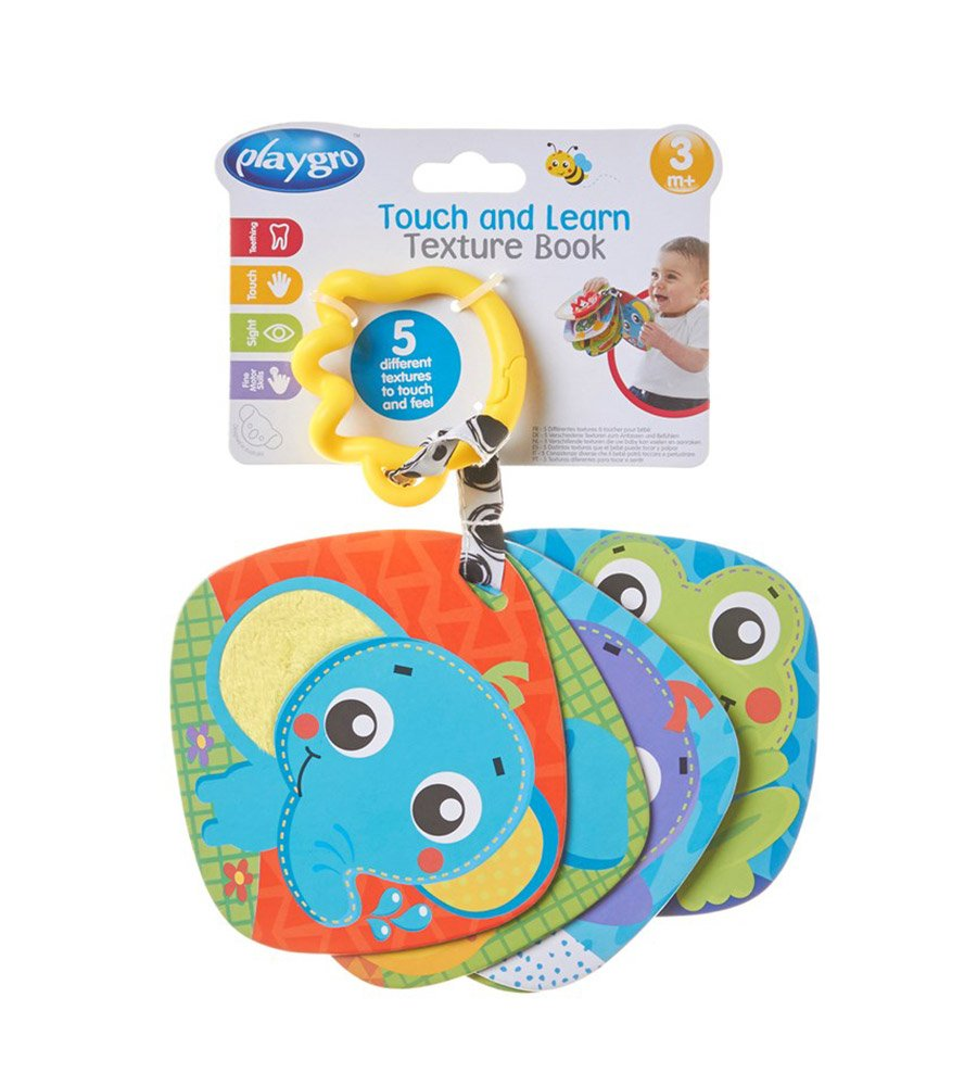 Libro colgante Touch And Learn Texture Book Playgro