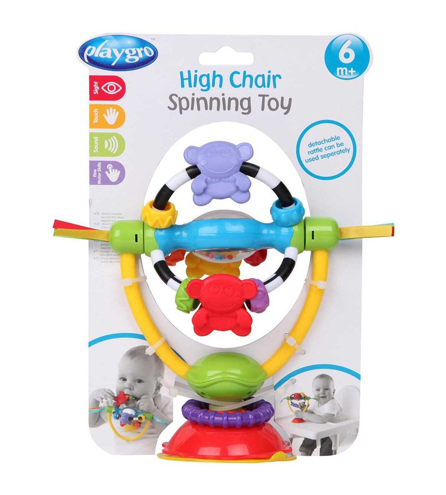 Sonajero Con Sopapa Y Mordillo High Chair Spinning Toy Playgro