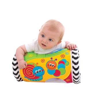 Gimnasio inflable Playgro Tumble Jungle Musical Peek in Roller - comprar online