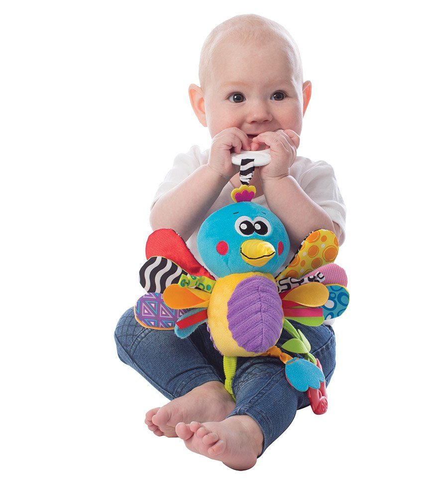 Peluche Mordillo colgante Playgro Buzz the Hummingbird