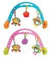 Barra de juego movil peluches Playgro Animal Friends Travel Play Arch