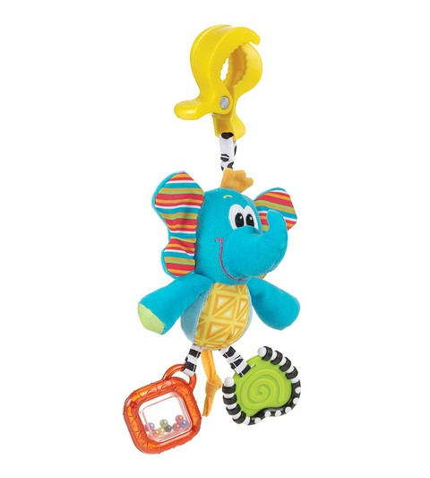 Peluche sonajero mordillo Dingly Dangly Elephant Playgro