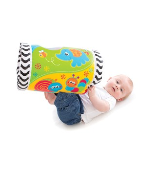 Gimnasio inflable Playgro Tumble Jungle Musical Peek in Roller en internet
