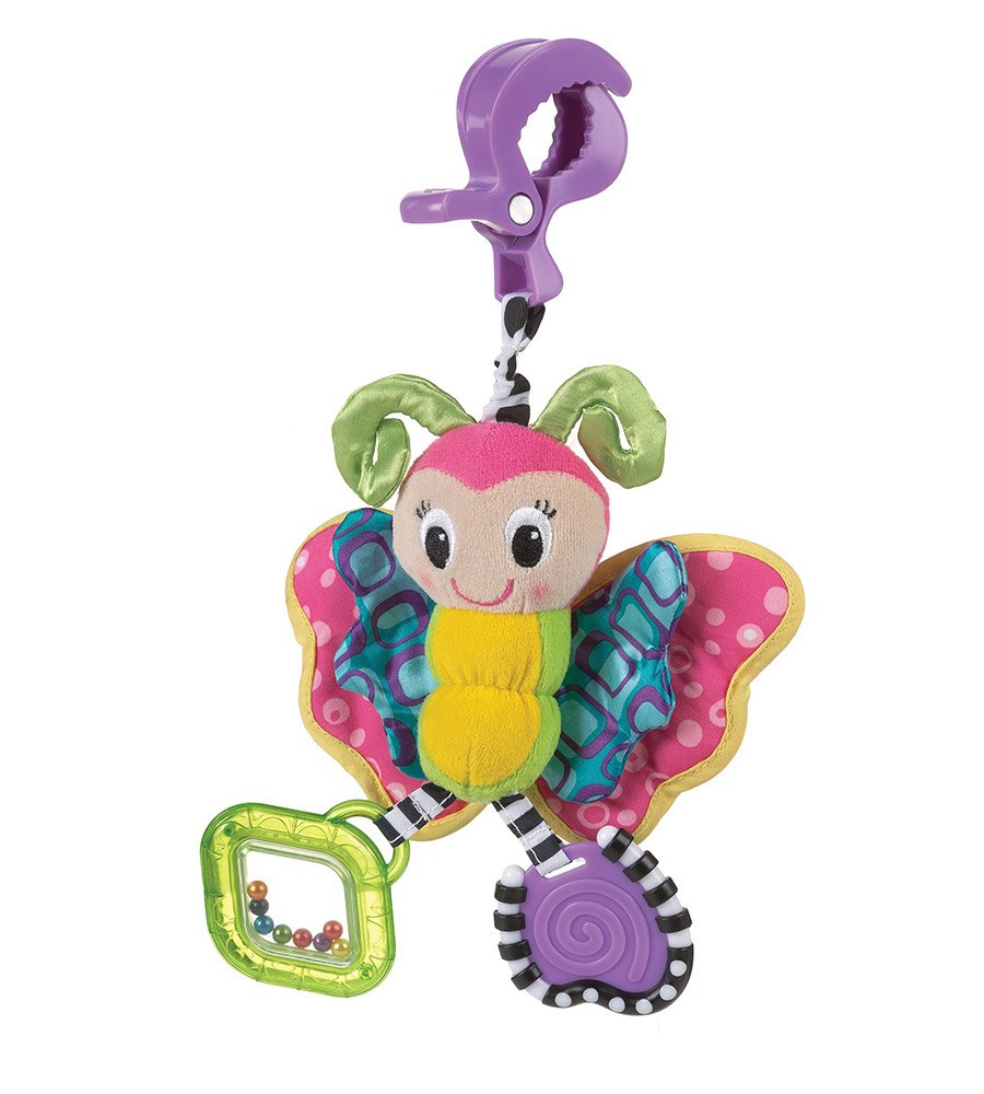 Peluche sonajero mordillo Dingly Dangly Butterfly Playgro - comprar online