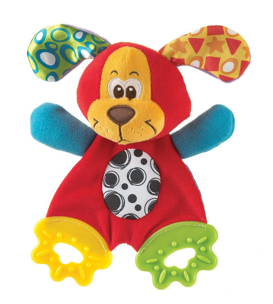 Peluche mordillo Pookie Puppy Teething Blankie Playgro
