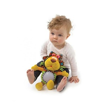 Peluche lampara Lion Shine Nightlight Playgro en internet