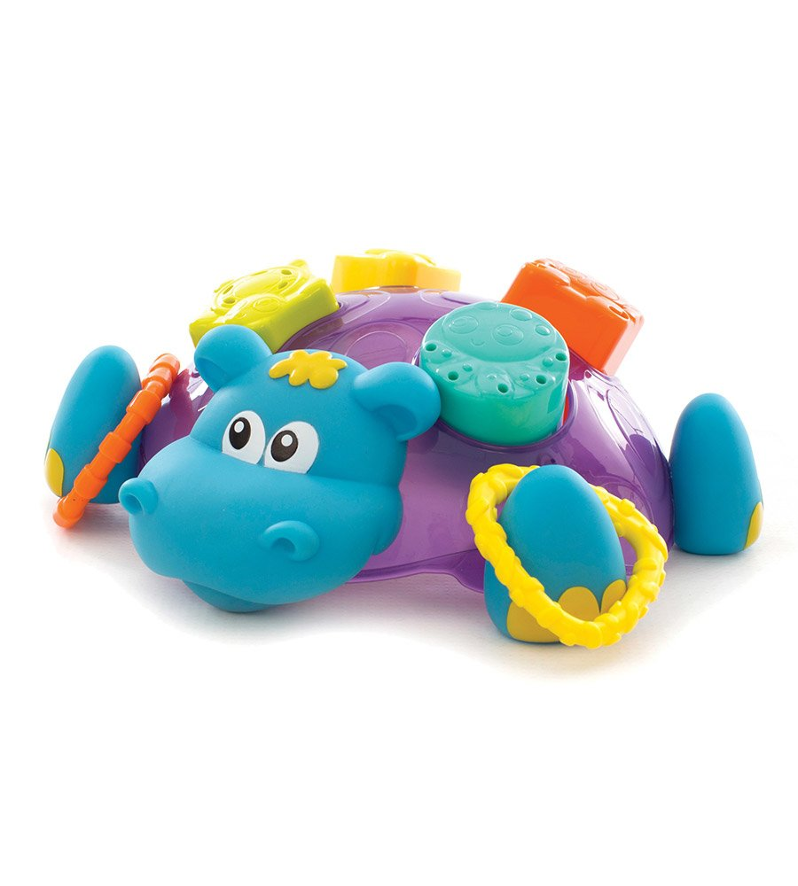 Muñeco encastre baño Sort n' Stack Floating Hippo Playgro