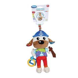 Peluche colgante Playgro Activity Friend Captain Canine - comprar online