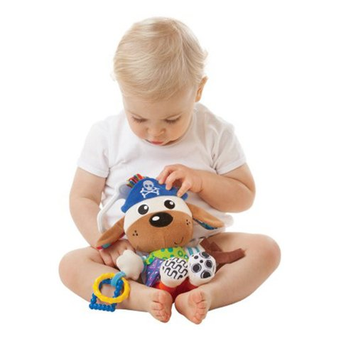 Peluche colgante Playgro Activity Friend Captain Canine