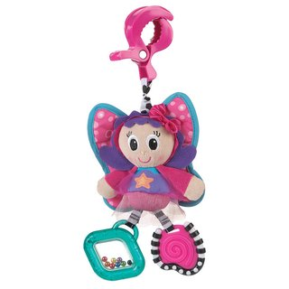 Peluche colgante  sonajero Playgro Dingly Dangly Floss the Fairy