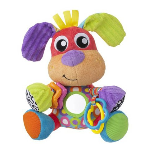 Peluche Mordillo Playgro Discovery Friend Puppy