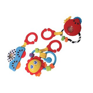 Gift Pack juguetes mordillos Playgro Go With Me Rattle Pack en internet
