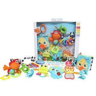 Set Juguetes mordillo Playgro Music on the Move Gift Pack - comprar online
