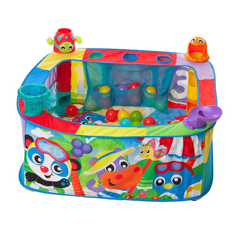 Gimnasio Corralito Playgro Pop Drop Ball Activity Gym