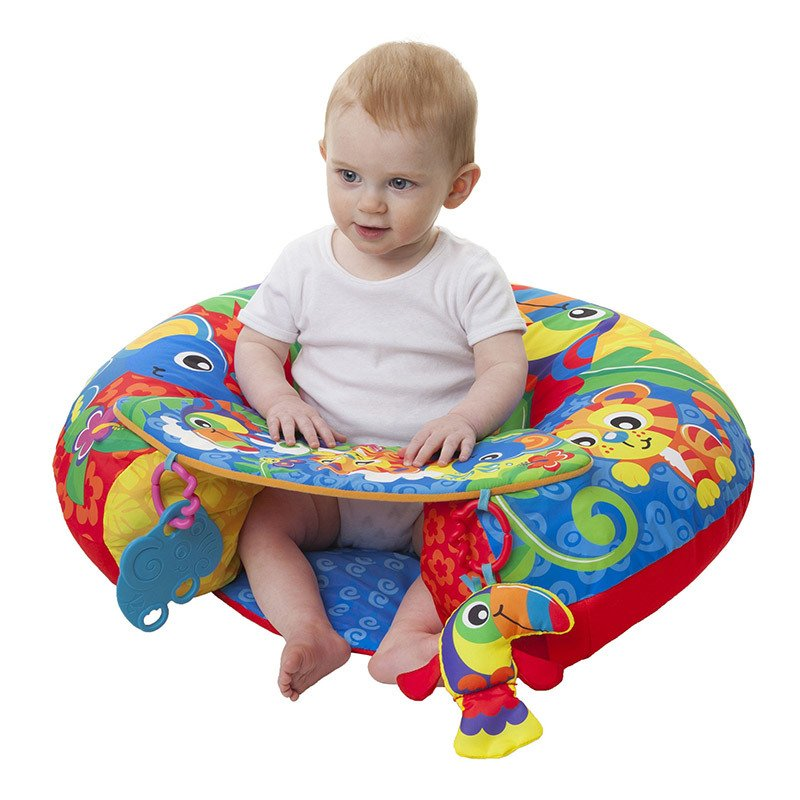Gimnasio Almohadon Playgro SIT UP AND PLAY ACTIVITY NEST
