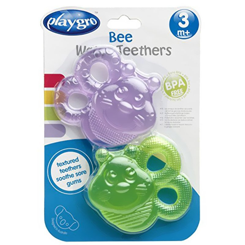 Mordillo Refrigerante gel Playgro bee water teether