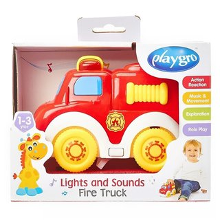Juguete auto con luces y sonidos Playgro Lights and sound fire truck en internet