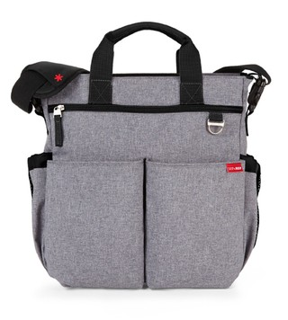 Bolso maternal morral con cambiador heather grey Skip Hop en internet