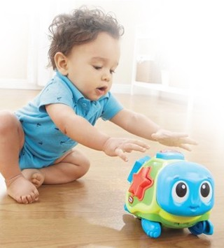 Tortuga Crawl N Pop De Little Tikes Didactico en internet