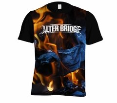 Camiseta Alter Bridge - Linha Digital - AB0001cdig​