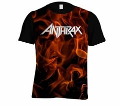 Camiseta Anthrax - Linha Digital - AN0002cdig​ - ZN STORE