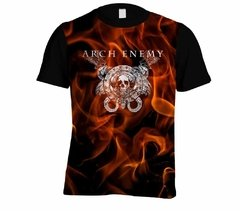Camiseta Arch Enemy - Linha Digital - AE0002cdig​ na internet