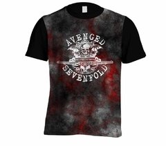 Camiseta Avenged Sevenfold - Linha Digital - AV0001cdig​ na internet