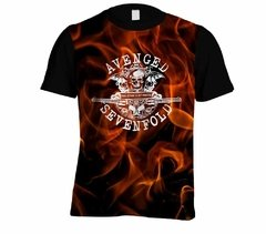 Camiseta Avenged Sevenfold - Linha Digital - AV0001cdig​ - ZN STORE