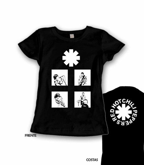 Babylook Red Hot Chili Peppers - RH0003b - comprar online