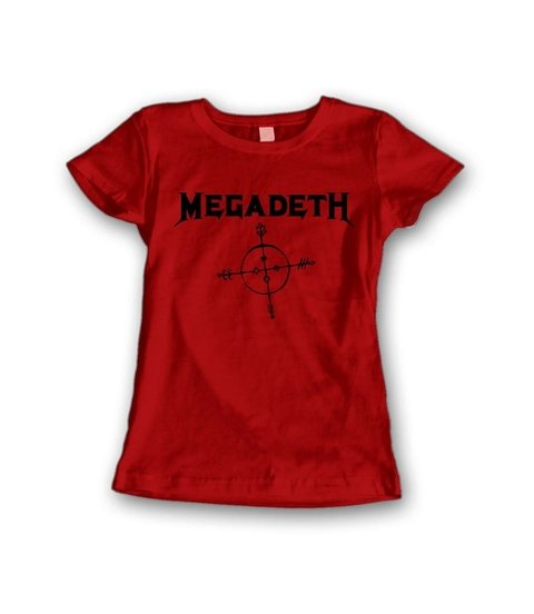 Babylook Megadeth - MG0001b - ZN STORE