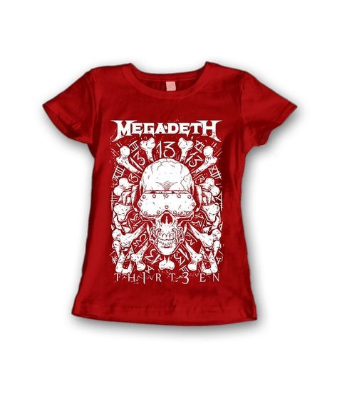 Babylook Megadeth - MG0003b - ZN STORE