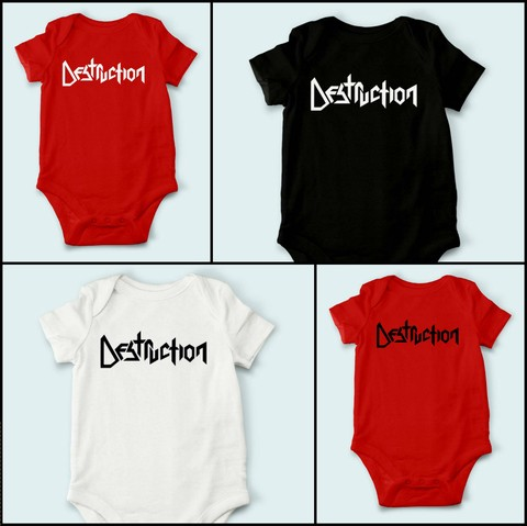 Body de Bebê Destruction - DE0002bb - comprar online