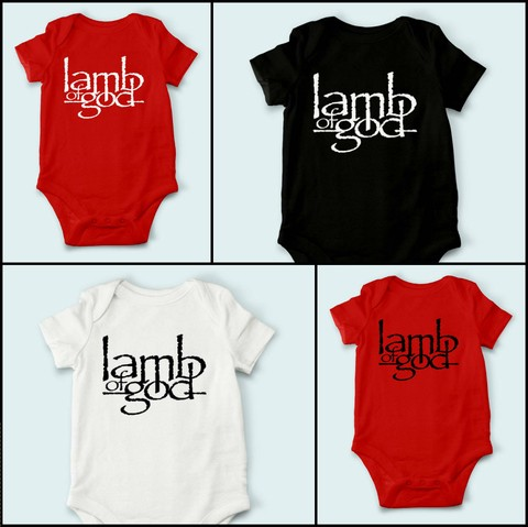 Body de Bebê Lamb Of God - LA0001bb - comprar online