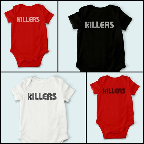 Body de Bebê The Killers - TK0001bb - comprar online