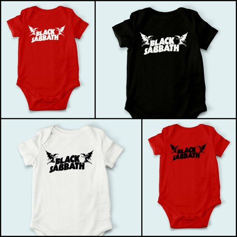Body de Bebê Black Sabbath - BS0001bb - comprar online