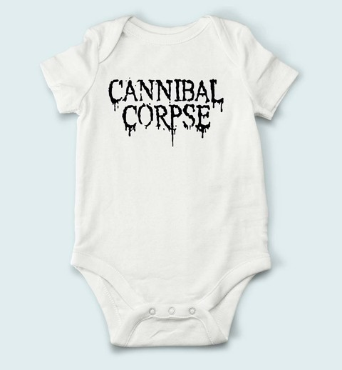 Body de Bebê Cannibal Corpse - CN0001bb na internet