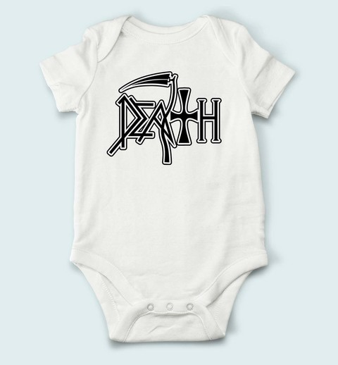 Body de Bebê Death - DH0001bb na internet