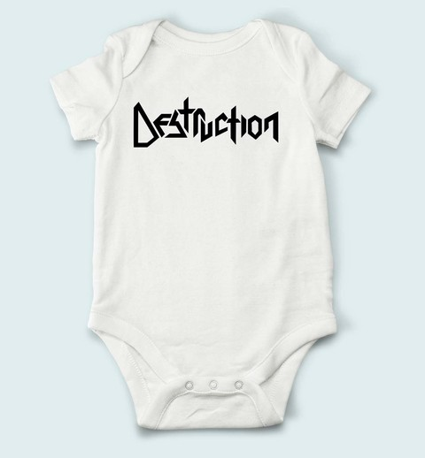 Body de Bebê Destruction - DE0002bb na internet