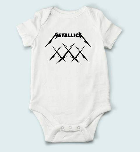 Body de Bebê Metallica - ME0002bb na internet