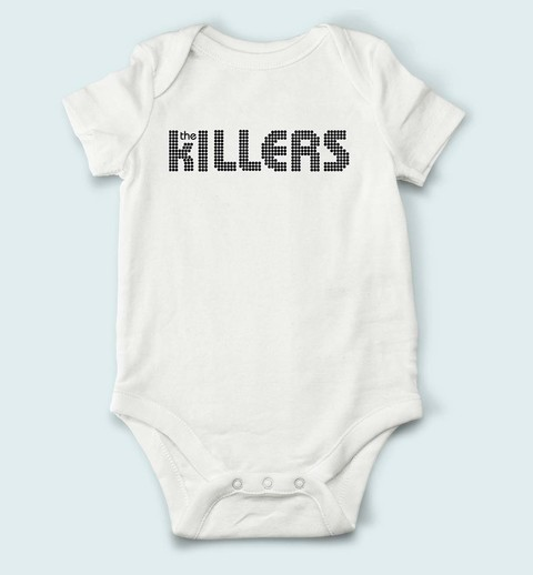 Body de Bebê The Killers - TK0001bb na internet