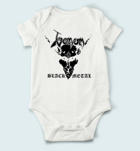 Body de Bebê Venom - VE0001bb na internet
