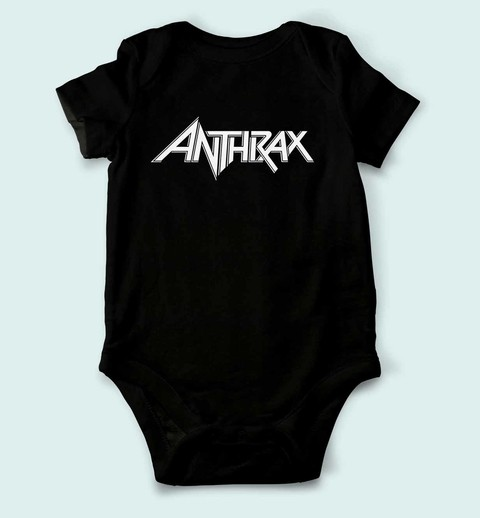 Body de Bebê Anthrax - AN0001bb - ZN STORE